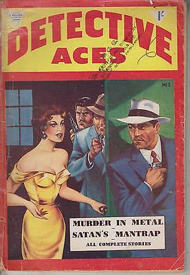 Detective Aces  No 5      British Edition Of An American Publication