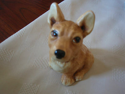Hand Painted Tinker Ware Made In England 'SUSIE' the CORGI