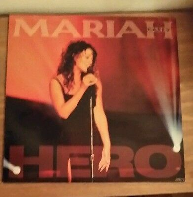Mariah Carey Hero And Dream Lover 12Inch Vinyl Single