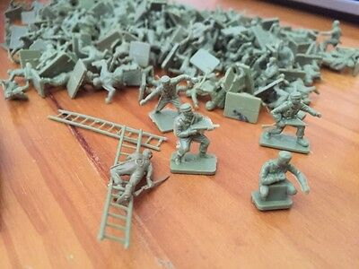 1/72 Airfix WW2 British Commandos figures soldiers lots of