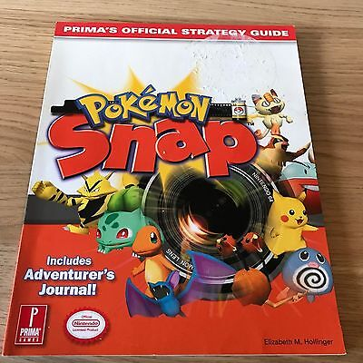 Pokemon Snap Official Strategy Guide Nintendo 64 N64 Prima Guide - FAST POST
