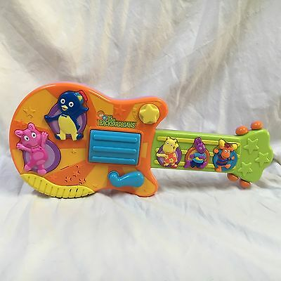 Nickelodeon The Backyardigans Electronic Sing And Strum Musical Guitar Works