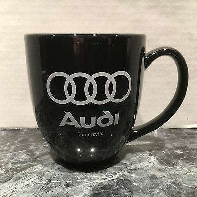 "Audi Of Turnersville New Jersey Black Silver Logo 4"" Ceramic Coffee Mug Free S/h"