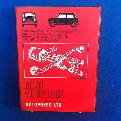 Austin Mini Workshop Manual By Autopress In Excellent Condition