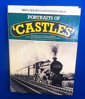 Portraits Of Castle Class Locomotive Book Very Good Condition 1981 1St Edition