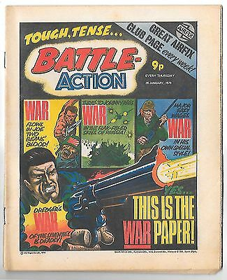 Battle Action 28th Jan 1978 (very high grade) Major Eazy, Dredger, Hellman