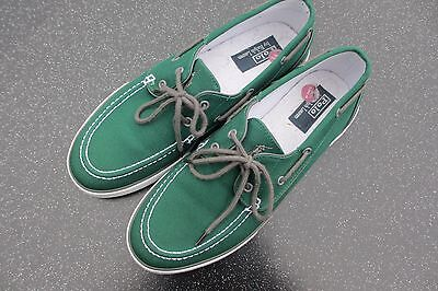 Ralph Lauren Polo Deck/boat Shoes In Green - Size 11