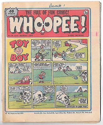 Whoopee! #25 (24th August 1974 high grade) Lone Ranger, Ghost Train