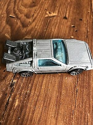 Back to the Future Hot Wheels car