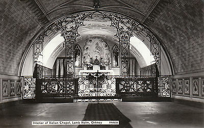 Interior Of Italian Chapel, LAMB HOLM, Orkney Islands RP