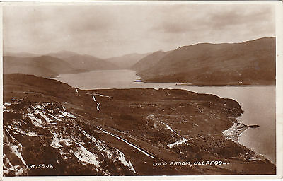 View Over Loch Broom, ULLAPOOL, Ross-shire RP