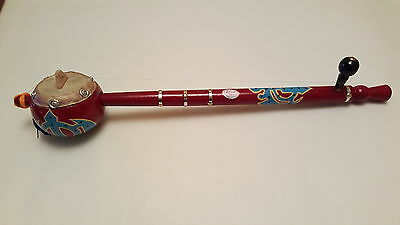 Tumbi/Toombi musical string instrument wooden, Brown, Sikh