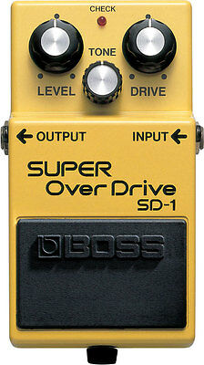 Boss SD-1 Super OverDrive Effektpedal
