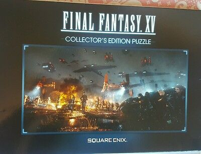 Final Fantasy XV Press Kit Collector's Edition Jigsaw Puzzle