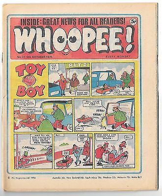 Whoopee! #31 (5th Oct 1974 very high grade) Lone Ranger, Ghost Train