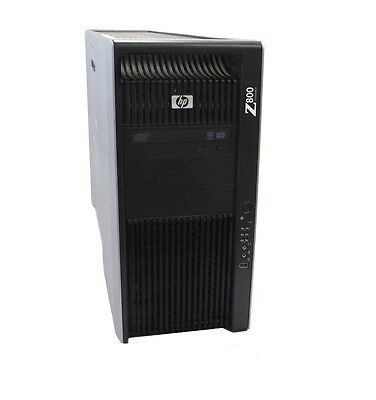 HP Z800 Workstation 2x Quad Core Xeon 2.80GHz , 96GB RAM ,1TB , nVidia FX580