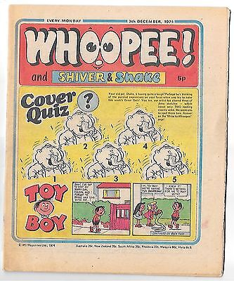 Whoopee! 7th Dec 1974 (very high grade) Frankie Stein, Scream Inn, Spy School