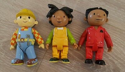 bob the builder figures characters original series child's toy play