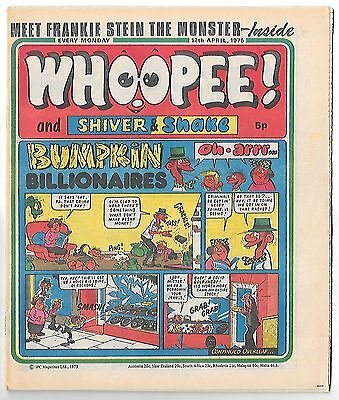 Whoopee! 12th Apr 1975 (very high grade) Frankie Stein, Scream Inn, Spy School
