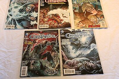 Constantine Comic Book Collection. Issues 1 - 5. The New 52 Comics Bundle