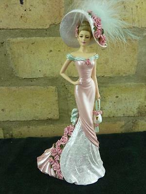 Blossoming Love from Thomas Kinkade Roses in bloom collection lady figure