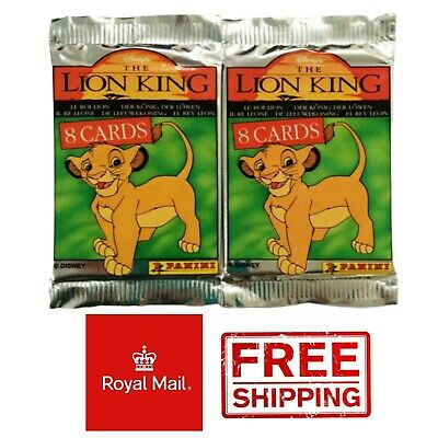 60 Packs The Lion King Trading Cards New Series 1 Panini Disney 1995 Guard