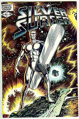 Silver Surfer #1  (1982 48 pg oneshot; vf 8.0) by Stan Lee and John Byrne