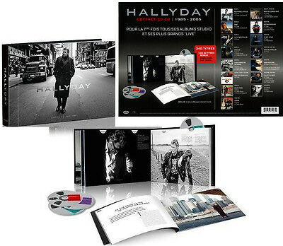 Johnny Hallyday - Official Mercury 1985-2005 - Coffret 20 CD