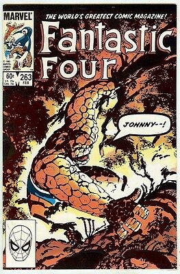 Fantastic Four #263 (Marvel 1984, vf+ 8.5) John Byrne story & art