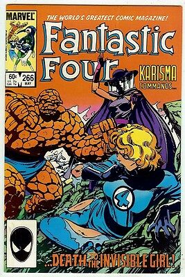 Fantastic Four #266 (Marvel 1984, vf+ 8.5) John Byrne story & art