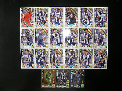 PANINI ADRENALYN XL FOOT 2016-2017 - TOULOUSE FC EQUIPE COMPLETE - 21 cartes