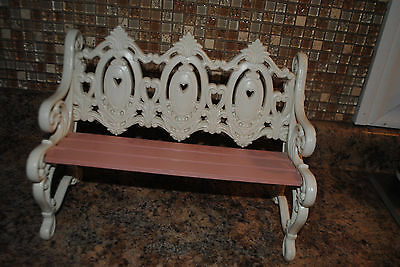 Vintage Homco Home Interiors Doll Bench  Table or Wall Hanging