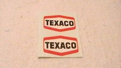 Triang, Hornby Lima Ect Texaco X2 Wagon Transfers / Water Slide / Decal's Spares