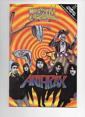 Rock n' Roll Comics #24 Anthrax (Revolutionary 1991) Faith No More VF/FN FIRST