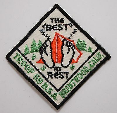 BSA / Boy Scouts of America - Vintage Will Rogers District Troop 69 Patch
