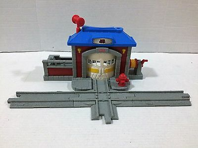 Fisher-Price GeoTrax Fire Station Fast Response Rescue Co.