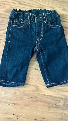 boys 0-3 months blue jeans fab con. will refund excess post cost.