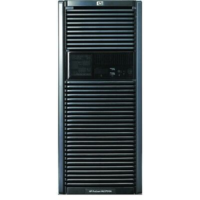 HP ML370 G6 Tower Server 2x Quad Core Xeon 2.66GHz X5550 72GB RAM 4X146Gb10K SAS