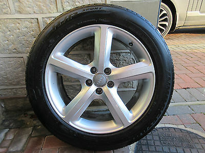 """Genuine Audi Q5 19"""" S Line Alloy Wheels With Tyres"""