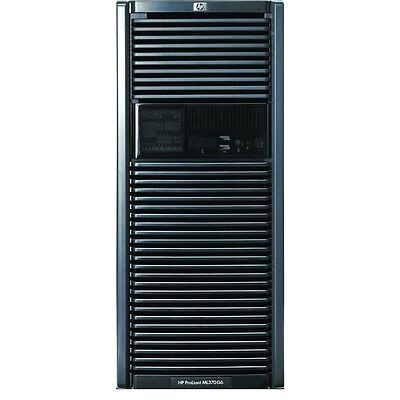 HP ML370 G6 Tower Server 2x Quad Core Xeon 2.66GHz X5550 144GB RAM 4X146Gb10K