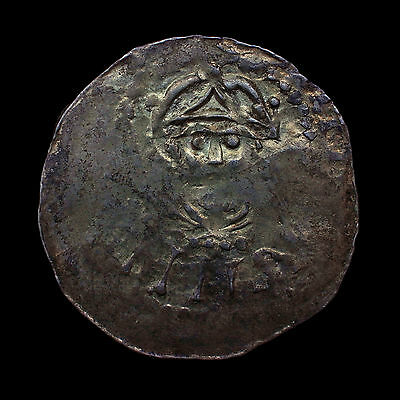 Holy Roman Emperor Henry III (1039-1056) Frankish Worms Mint Penny LOVELY LUSTER