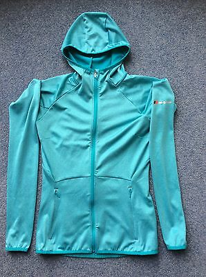 Ladies Berghaus Mid Layer Jacket, turquoise green, Size 8