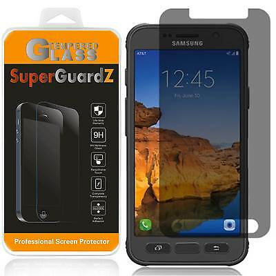 2X Privacy Tempered Glass Screen Protector For Samsung Galaxy S7 Active +LED Pen