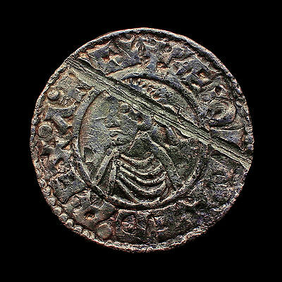 Aethelred Exeter Aethelnoth Small Cross (1009-1017) Penny UNIQUE VIKING AXE TEST