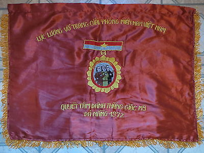 Viet Cong Flag NVA - VC -  Easter Offensive , DANANG 1972 , AGAINST US TROOPS