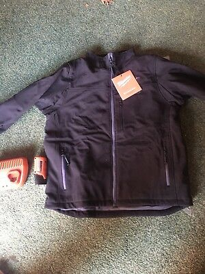 Milwaukee   Men's Large M12 12-Volt Lithium-Ion Cordless Black Heated Jacket Kit