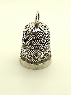 1940s Sterling Silver Thimble