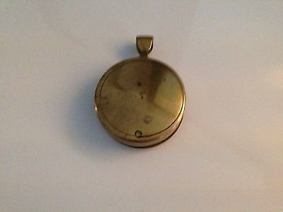 Vintage Brass Magnifying Glass