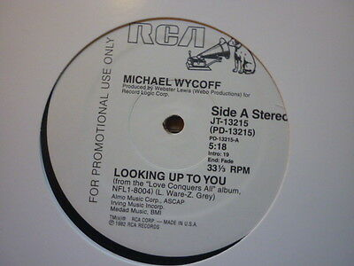 northern soul michael wycoff looking up to you rca reissue dance 12