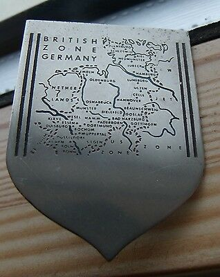 VINTAGE 1950's COLLECTIBLE BRITISH GERMANY ZONE BADGE